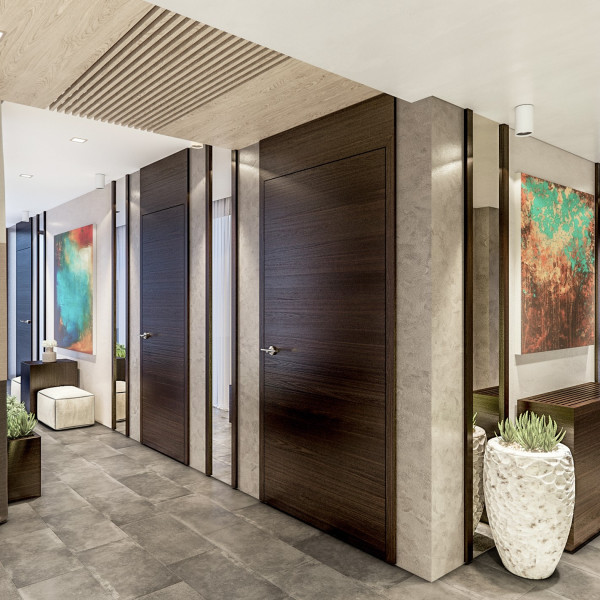 Lobby renovation of Oasis VIP club
