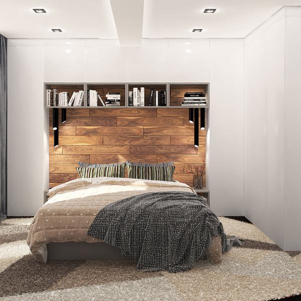 Bedroom, Modern Apartment