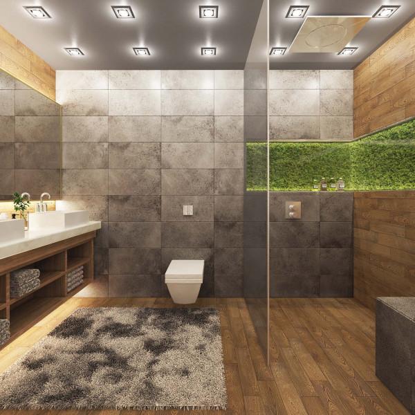 Bathroom, Modern Apartment in Haskovo