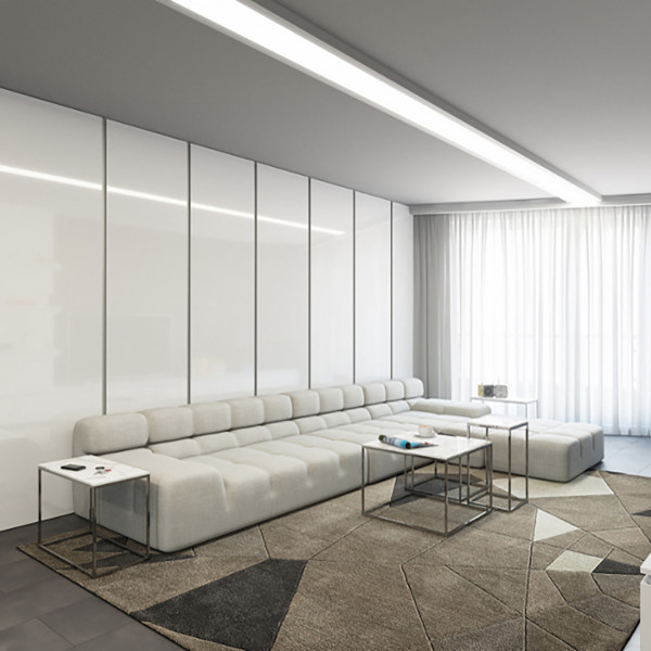 Living room, The white Apartment