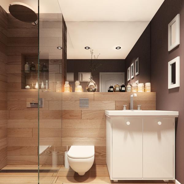 Bathroom, Rustic Apartment in Sofia