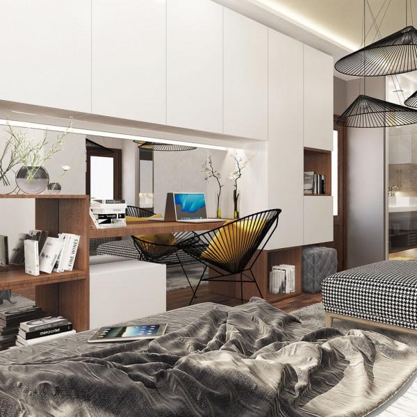 Bedroom, Modern Apartment in Haskovo