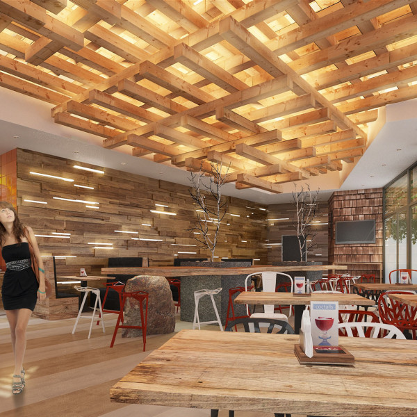 Interior Design Project of Legendary BBQ, 2014
