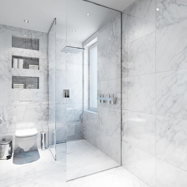 Bathroom, The white Apartment