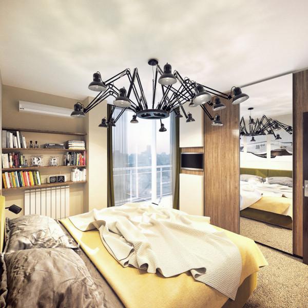 Bedroom, Bachelor Apartment