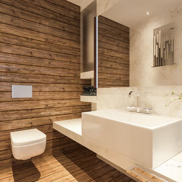 "Bathroom, Apartment ""Natural Feel"""
