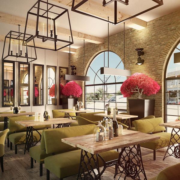 Rustic Cozy Restaurant