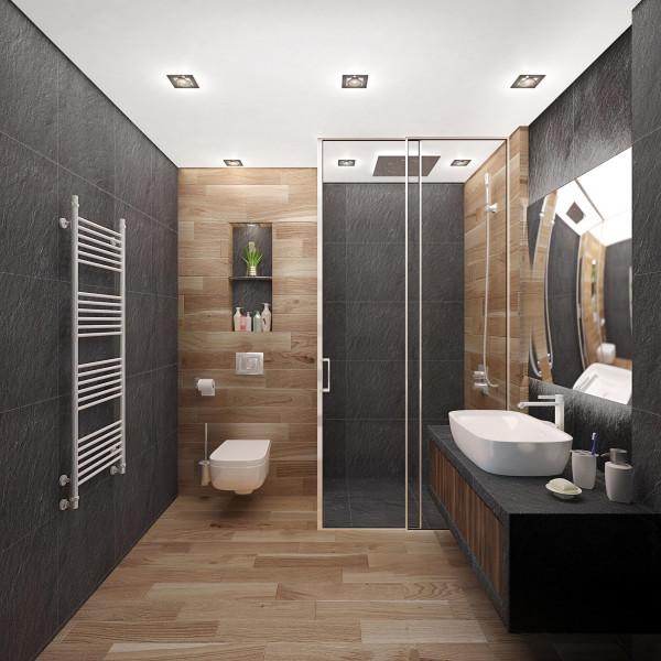 Bathroom, Modern Apartment