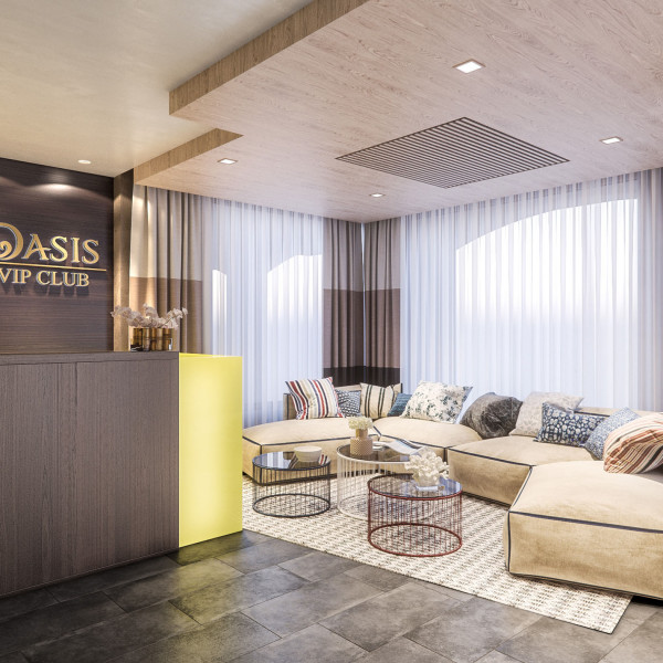 Lobby renovation of Oasis VIP club