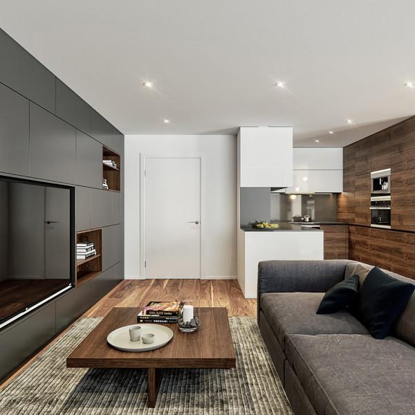 Living room, Modern Apartment