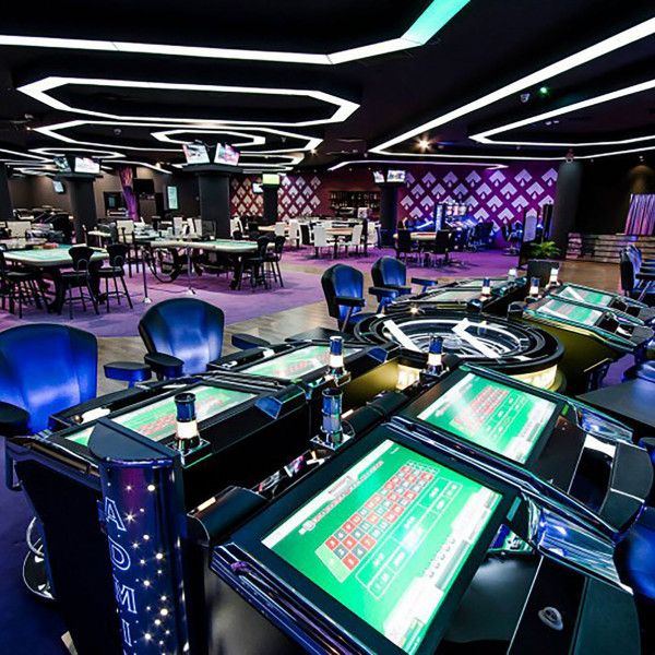 Interior design of Sports Club and Casino