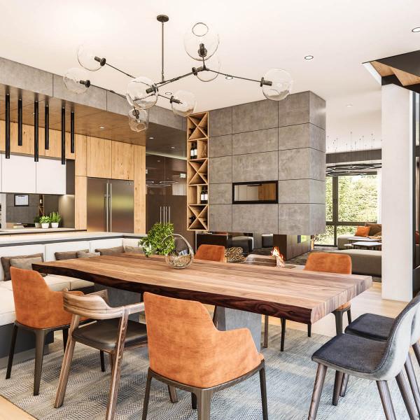 Modern House S  interior
