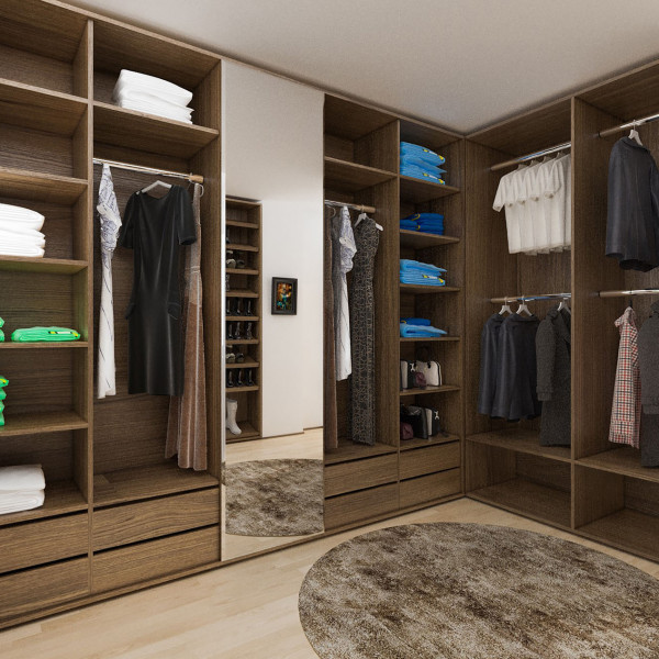 """Closet,  Apartment """"Natural Feel"""""""