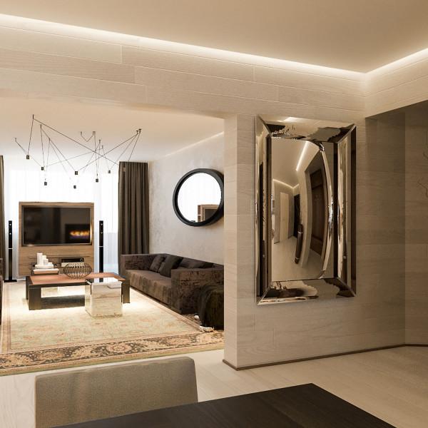 "Living room, Apartment ""Natural Feel"""