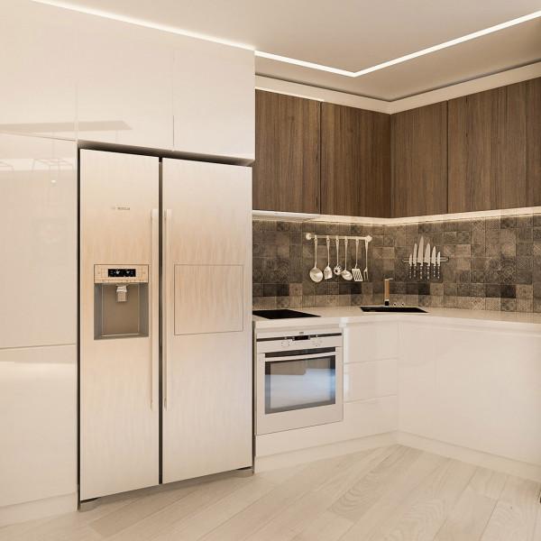 "Kitchen, Apartment ""Natural Feel"""