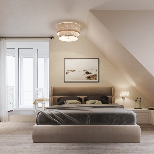 Classic style penthouse, Master Bedroom