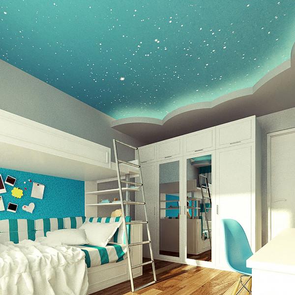 Blue kids room, Rustic Apartment in Sofia