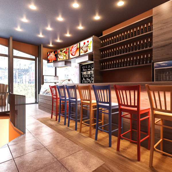Fast Food Restaurant - Midpoint