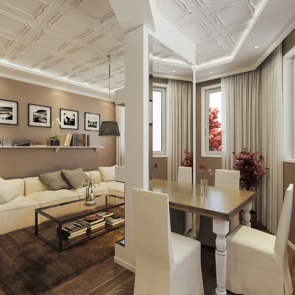 Living room, Classic Apartment