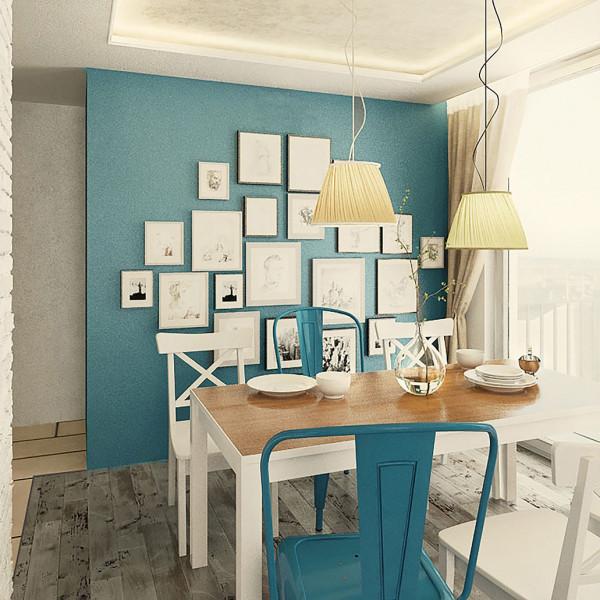 Living room, Rustic Apartment in Sofia